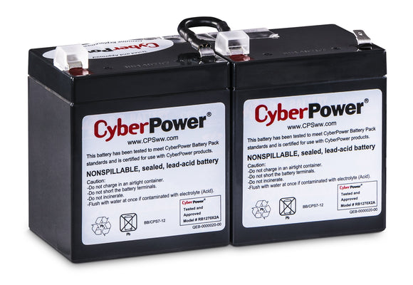 CyberPower RB1270X2A UPS Replacement Battery Cartridge