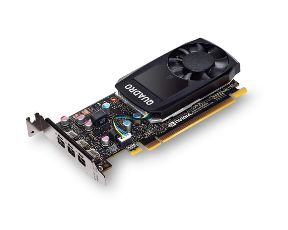 PNY NVIDIA Quadro P400 Professional Graphics Board - (VCQP400-PB) Graphic Cards