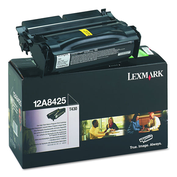 Lexmark  T430 HIGH YIELD RETURN PROG ( 12A8425 )