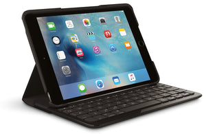 Refurbished Logitech Logi Focus Protective Case with Integrated Keyboard for iPad Mini 4 by Logitech