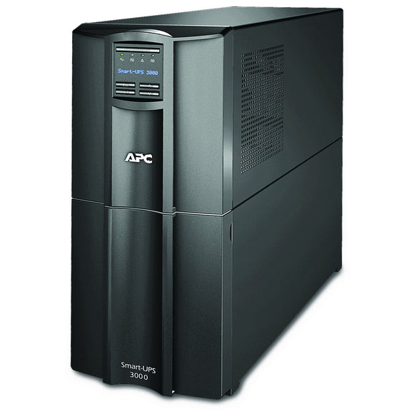 APC 3000VA Smart-UPS with SmartConnect, Pure Sinewave UPS Battery Backup, Line Interactive, 120V Uninterruptible Power Supply