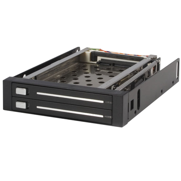 Startech.Com HSB220SAT25B 2 Drive 2.5-Inch Trayless Hot Swap Sata Mobile Rack Backplane