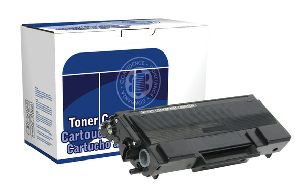 Dataproducts DPCTN650 Remanufactured High Yield Toner Cartridge Replacement for Brother TN650