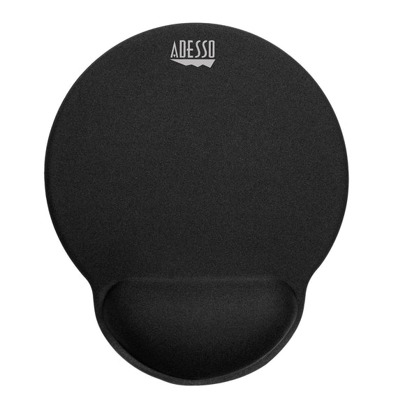 Adesso TruForm P200 Truform Memory Foam Mouse Pad with Ergonomic Wrist Rest Anti -Slip Design