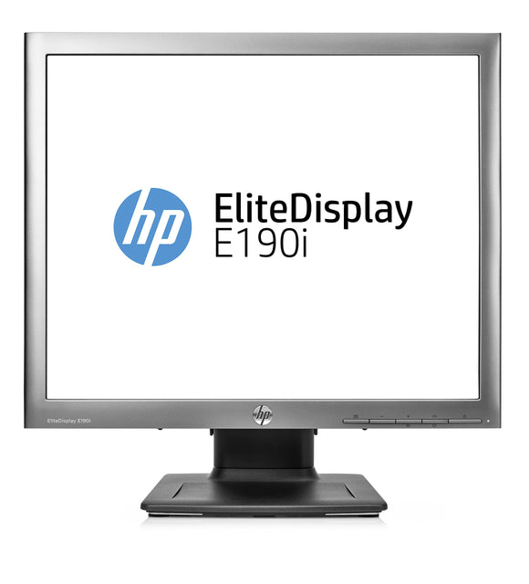 HP E4U30A8#ABA EliteDisplay E190i 18.9'' LED-Backlit LCD Monitor, Silver