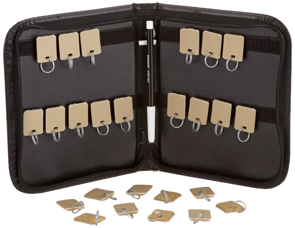 SecurIT Security-Backed Zippered Case, 24-Key, 7