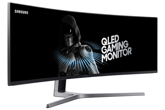 Samsung 49 inch CHG90 Gaming Monitor 144hz 1ms (LC49HG90DMNXZA) - Super Ultrawide, QLED, HDR, 1ms gaming monitor with Freesync