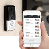 Open Box ZMODO ZM-SHD003B Greet - Smart WiFi Video Doorbell (Black/Silver)