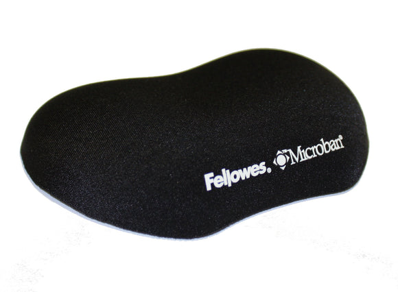 Fellowes Plush Touch Utility Wrist Rest with Foam Fusion Technology, Black