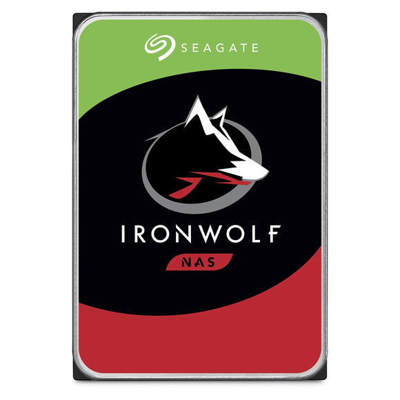Seagate IronWolf 2TB NAS Internal Hard Drive HDD - 3.5 Inch SATA 6Gb/s 7200 RPM 256MB Cache for RAID Network Attached Storage (ST2000VN004)