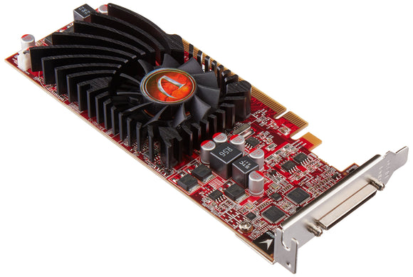 VisionTek Radeon HD 5570 4 Port HDMI VHDCI Graphics Card-900901, Black, Multicolor, Red