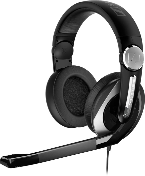 Open box of Sennheiser PC 333D Gaming Headset