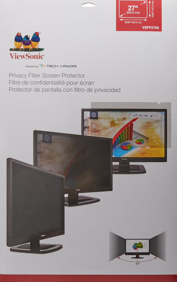 VIEWSONIC VSPF2700 Display Privacy Filter, 27