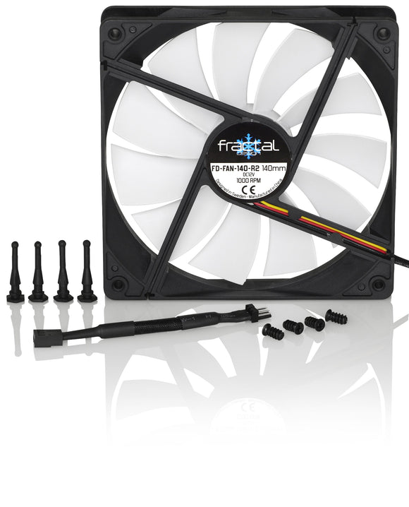 Fractal Design Silent Series R2 140mm Cooling Fan FD-FAN-SSR2-140