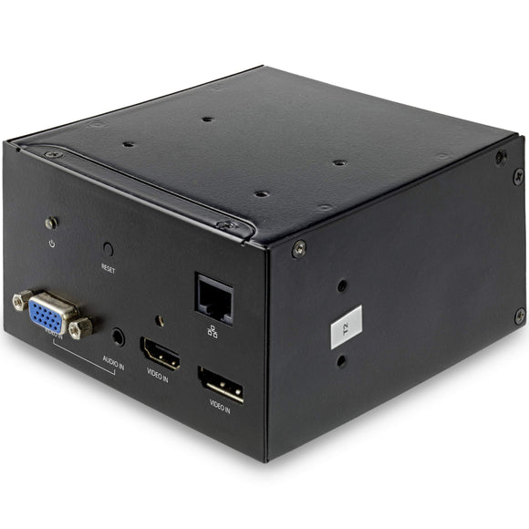 Audio/Video Module for Conference Table Connectivity Box - 4K - HDMI, DP, VGA - Table-Mounting Bracket Included (MOD4AVHD)