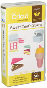 Cricut 2001097 Sweet Tooth Boxes Cartridge