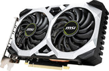 MSI Gaming GeForce GTX 1660 128-Bit HDMI/DP 6GB GDRR5 HDCP Support DirectX 12 Dual Fan VR Ready OC Graphics Card (GTX 1660 Ventus XS 6G OC)