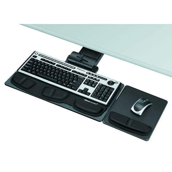 Fellowes Professional Series Executive Keyboard Tray, Black