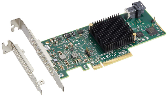 LSI Logic 6Gb/s SAS - PCI Express 3.0 x8 - Plug-in Card - 1 SAS Port(s) LSI00346
