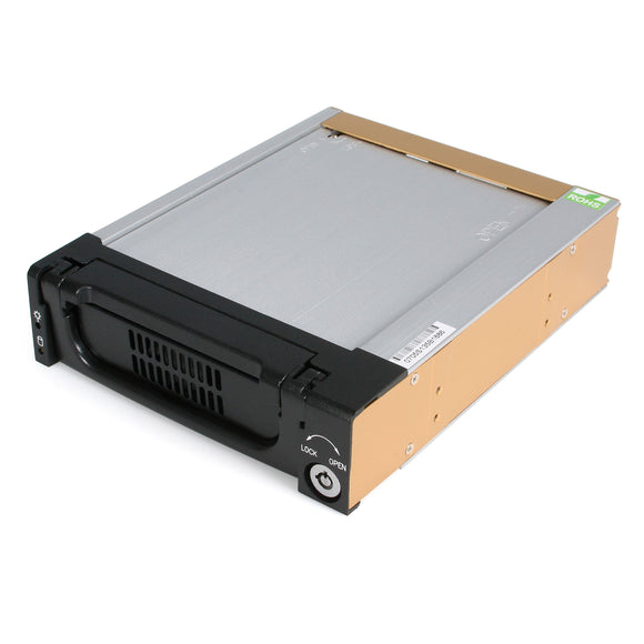 StarTech.com 5.25-Inch Rugged SATA Hard Drive Mobile Rack Drawer DRW150SATBK (Black)