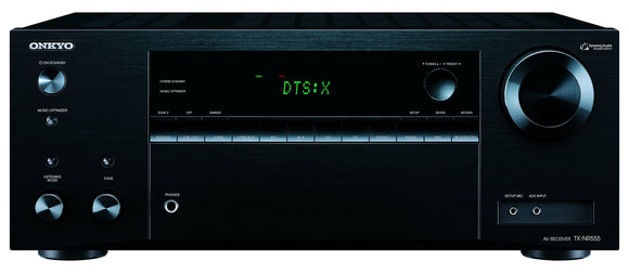 Pre-owned Onkyo TX-NR555 7.2-Channel Network A/V Receiver
