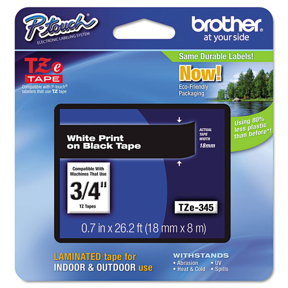 BRTTZE345 - Brother TZ Lettering Label Tape