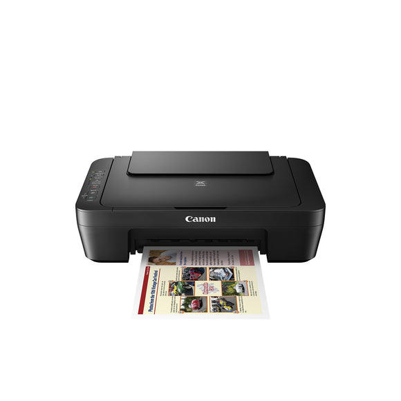 Open Box Canon MG3029 Wireless Color Photo Printer with Scanner and Copier, Black