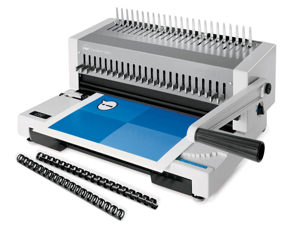 GBC C350 CombBind Binding System, Binds up to 500 Sheets, All Metal Design, 1346527160