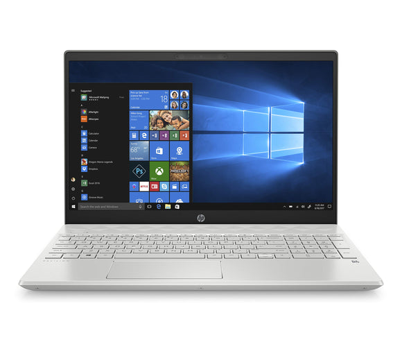 HP Pavilion 15-Inch Laptop, Intel Core I5-8265U, Intel UHD Graphics 620, 8GB RAM, 256GB SSD, Windows 10 (15-cs2010nr, Silver)