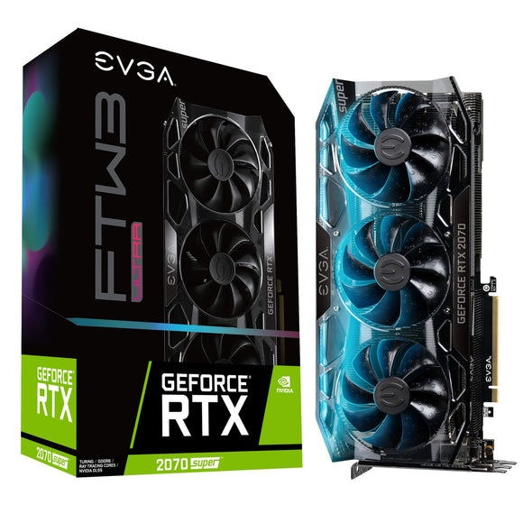 EVGA GeForce RTX 2070 Super Graphic Card - 8 GB GDDR6