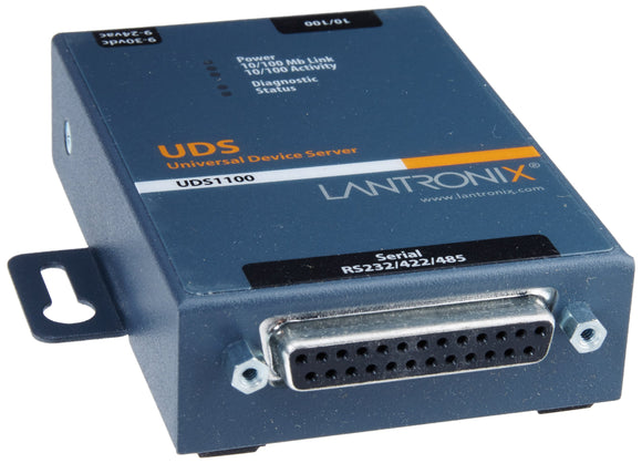 LANTRONIX UD1100001-01 Device Server 1PRT 10/100 RS232/422/485