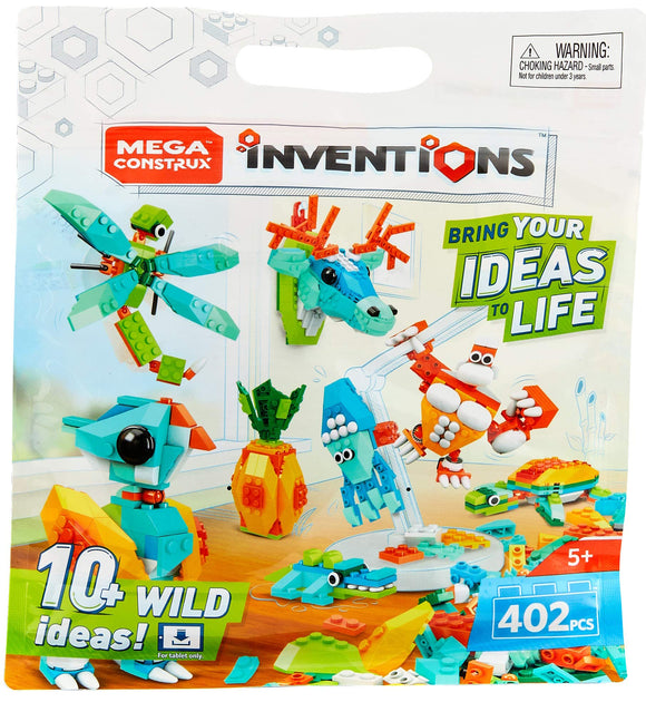 Mega Construx Inventions Wild Pack