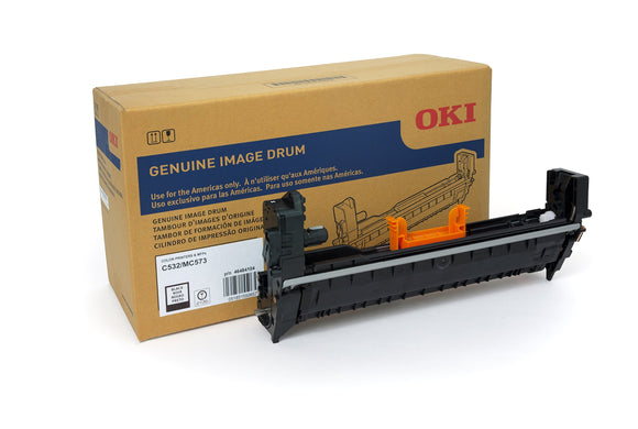 OKI 46484104 Black Imaging Drum for C532, MC573