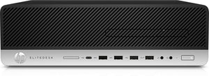 HP EliteDesk 800 G4 Desktop Computer - Intel Core i5 (8th Gen) i5-8500 3 GHz - 16 GB DDR4 SDRAM - 256 GB SSD - Windows 10 Pro 64-bit - Small Form Factor - DVD-Writer DVD177;R/177;RW - Inte
