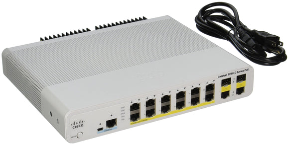 Cisco Catalyst WS-C2960C-12PC-L Ethernet Switch (WS-C2960C-12PC-L)