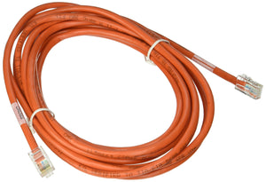 C2G 26704 Cat5e Crossover Cable - Non-Booted Unshielded Network Patch Cable, Orange (14 Feet, 4.26 Meters)