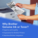 Brother Genuine Standard Yield Toner Cartridge, TN730, Replacement Black Toner, Page Yield Up To 1,200 Pages, Amazon Dash Replenishment Cartridge