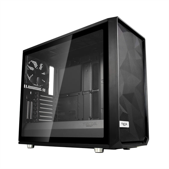 Fractal Design Meshify S2 Black ATX Modular High-Airflow Tempered Glass Window Mid Tower Computer CaseFD-CA-MESH-S2-BKO-TGL