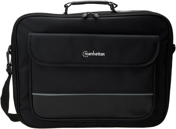 Manhattan 421560 London Notebook Computer Briefcase Upto 17-Inch (Black)
