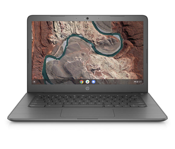 HP Chromebook 14-inch Laptop with 180-Degree Hinge, Full HD Screen, AMD Dual-Core A4-9120 Processor, 4 GB SDRAM, 32 GB eMMC Storage, Chrome OS (14-db0040nr, Chalkboard Gray)