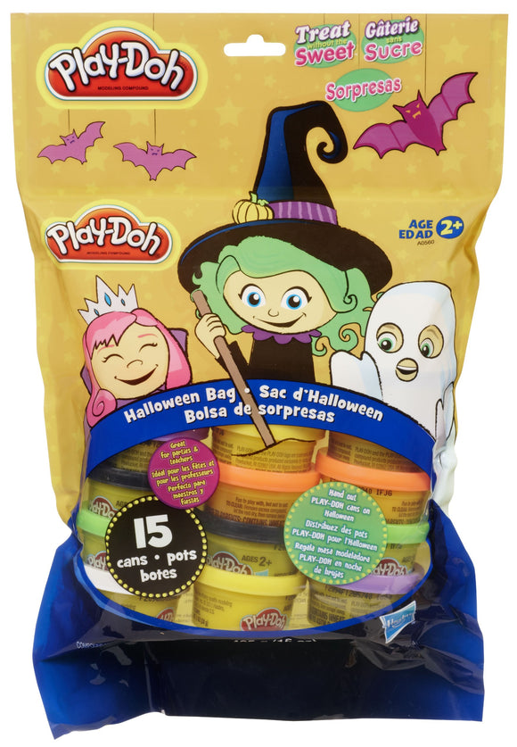 Play-Doh Halloween Bag, 15 Cans