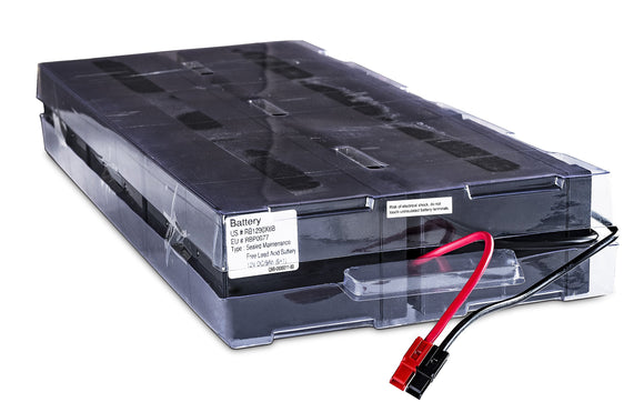 CyberPower RB1290X6B Replacement Battery Cartridge, Maintenance-Free, User Installable