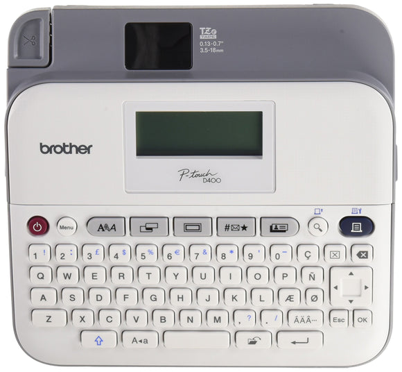 Brother PTD- 400AD Desktop Labeller with AC Adapter