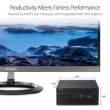 ASUS PN60-BB3006MC Mini PC Barebones with Intel Core i3-8130U and Integrated Intel 4K UHD Graphics