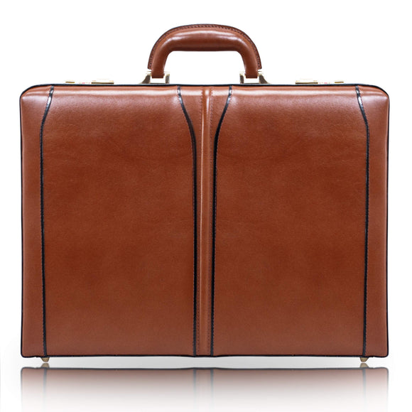 McKleinUSA 80454 Lawson Leather Attache Case, Brown