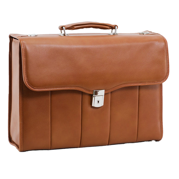 McKlein, I Series, North Park, Full Grain Cashmere Napa Leather, 15