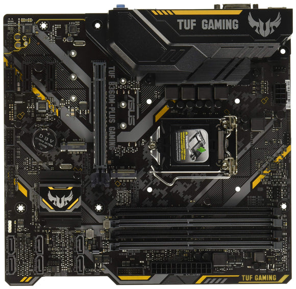 ASUS TUF B360M-PLUS Gaming Motherboard B360 LGA1151 (300 Series) DDR4 HDMI VGA M.2 mATX