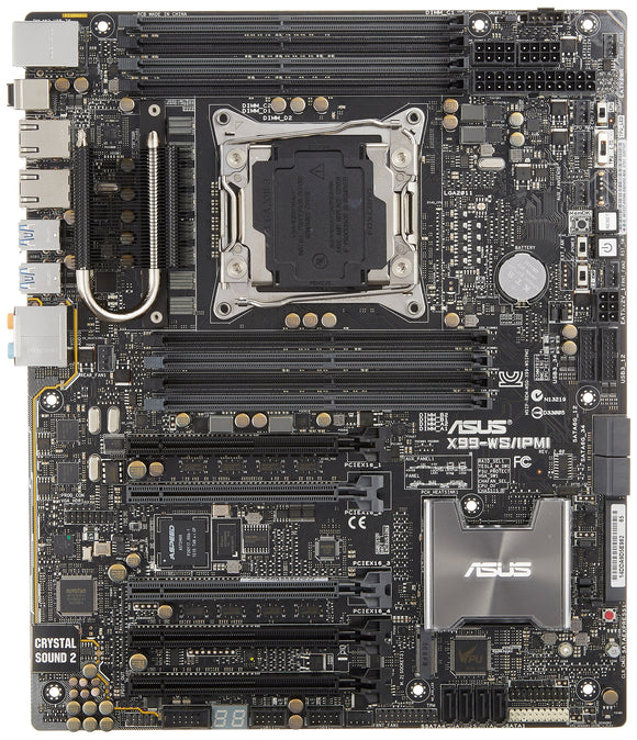 Open Box Asus Motherboard X99-WS/IPMI (Retail)