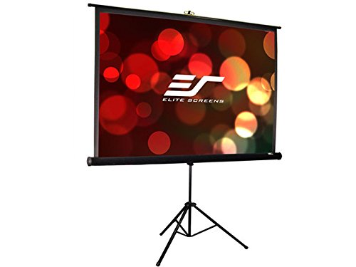 Elite Screens Tripod Pro, 99-inch, Professional Multi Aspect Ratio Portable Projection Projector Screen, T99UWS1-PRO