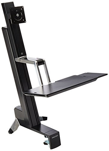 WorkFit-S. Single LD Sit-Stand Workstation
